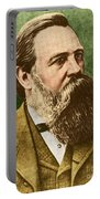 Friedrich Engels, Father Of Communism Portable Battery Charger