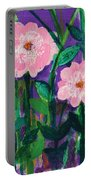Friendship In Flowers Portable Battery Charger