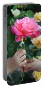 Friendship Rose Portable Battery Charger