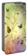 Frolicing Butterflies Portable Battery Charger