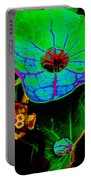 From The Psychedelic Garden Portable Battery Charger