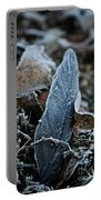 Frosted Feather Portable Battery Charger