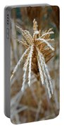 Frosty Fountain Grass Portable Battery Charger