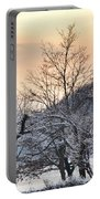 Frozen Trees Portable Battery Charger