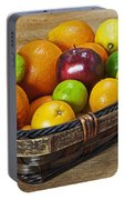 fruits with vitamin C Portable Battery Charger
