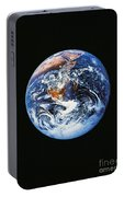 Full Earth From Space Portable Battery Charger