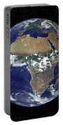 Full Earth Showing Africa And Europe Portable Battery Charger