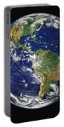 Full Earth Showing The Western Portable Battery Charger