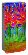 Funky Flower Towers Portable Battery Charger