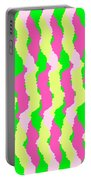 Funky Stripes Portable Battery Charger