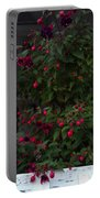 Fuschia Tree Portable Battery Charger