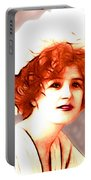 Gabrielle Ray Portrait  Portable Battery Charger