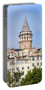 Galata Tower In Istanbul Portable Battery Charger