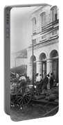 Galveston Flood - September - 1900 Portable Battery Charger by International  Images