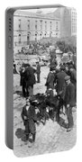 Galway Ireland - The Market At Eyre Square - C 1901 Portable Battery Charger
