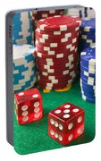Gambling Dice Portable Battery Charger