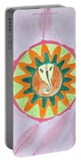 Ganesh Mandala Portable Battery Charger by Sonali Gangane