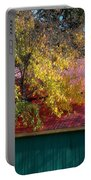 Garage In Autumn Portable Battery Charger