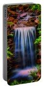 Garden Falls Fractalized Portable Battery Charger