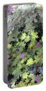 Garden Flower Border Portable Battery Charger