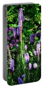 Garden Flowers 1 Portable Battery Charger