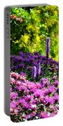 Garden Flowers 3 Portable Battery Charger