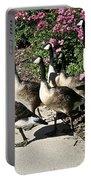 Garden Geese Parade Portable Battery Charger