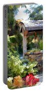 Garden Wishing Well Portable Battery Charger