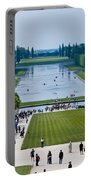 Gardens At Palace Of Versailles France Portable Battery Charger