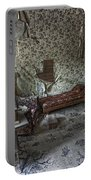 Garnet Ghost Town Hotel Parlor - Montana Portable Battery Charger