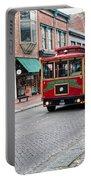 Gastown Street Scene Portable Battery Charger