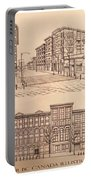 Gastown Vancouver Canada Prints Portable Battery Charger