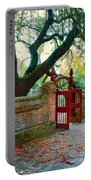 Gate In Brick Wall Portable Battery Charger