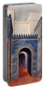Gate Of Ishtar, Babylonia Portable Battery Charger by Photo Researchers