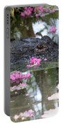 Gator Among Crape Myrtle Portable Battery Charger