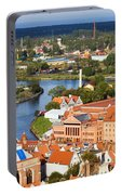 Gdansk Cityscape Portable Battery Charger