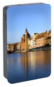 Gdansk Old Town And Motlawa River Portable Battery Charger