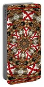 Gemstones And Silver Jewelry Kaleidoscope Portable Battery Charger