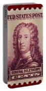 General James Oglethorpe Postage Stamp Portable Battery Charger