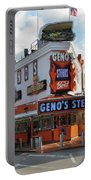 Geno's Steaks - South Philadelphia Portable Battery Charger