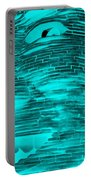 Gentle Giant In Negative Turquois Portable Battery Charger