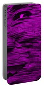 Gentle Giant In Purple Portable Battery Charger