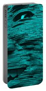 Gentle Giant In Turquois Portable Battery Charger