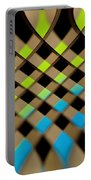 Geometrical Colors And Shapes 1 Portable Battery Charger