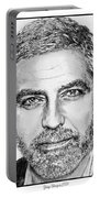 George Clooney In 2009 Portable Battery Charger