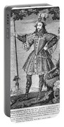George Cumberland (1558-1605). George De Clifford Cumberland. 3rd Earl Of Cumberland. English Naval Commander And Courtier. Line Engraving, English, Early 19th Century Portable Battery Charger