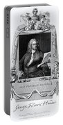 George Frideric Handel, German Baroque Portable Battery Charger by Omikron