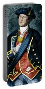 George Washington, Virginia Colonel Portable Battery Charger by Photo Researchers, Inc.