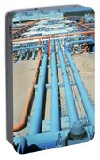 Geothermal Power Plant Portable Battery Charger