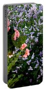 Geranium And Lilac Painting Portable Battery Charger